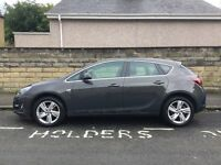 Vauxhall Astra 2014 (64) 1.4 SRi, grey, 9500 miles, great condition, warranty until 2017