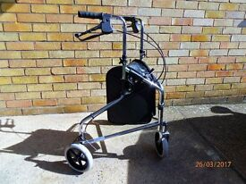 3 wheel mobility aid. Virtually New - only used once