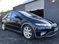 Honda Civic 2.2 i-CTDi Sports 2008 6 Speed Low Mileage *Full MOT* *FSH*