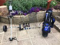 Golf clubs. SOLD