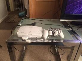 PlayStation 1 (PS1) Slim with 27 games