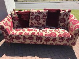 Sofa for sale- 3-seater, 2 seater and armchair