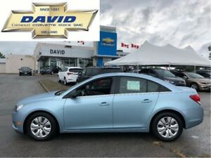 2012 Chevrolet Cruze LS/ KEYLESS/ AC/ CDMP3, XM/ LOCAL TRADE!