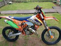 Ktm exc 125 road legal not cr yz rm