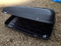 Halfords car roof box / travel box