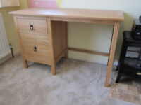 Desk with two draws in great condition except for small corner damage