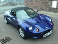1998 R LOTUS ELISE 1.8 CONVERTIBLE ** ONLY 4549 MILES ** ONE OWNER FROM NEW ** STUNNING **