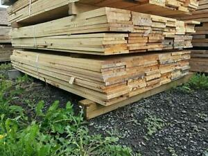 Fence and Deck Lumber at Auction - Save Big! - Auction Ends August 27th