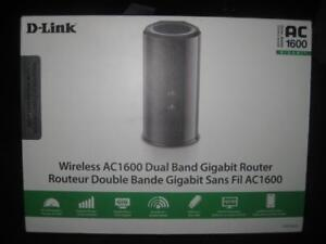 D-Link Wireless AC1600 Dual Band Gigabit Router. Fast Streaming for Wifi / Android Box. TV. Netflix. Computer. Desktop