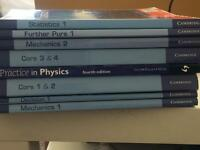 A-level Maths and FurtherMaths books for sale  Warwickshire