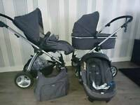 Mamas and papa's solar mtx 2 pram and pushchair