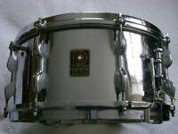 "Premier Dominion Ace COB snare drum 14 x 6 1/2"" - England - Vintage - Modded"