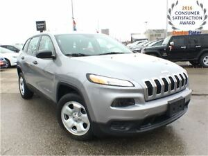 2014 Jeep Cherokee SPORT**COLD WEATHER GROUP**