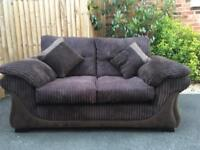 Small sofa and footstool - barely used