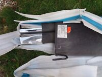 2 brand new Rear exhaust boxes for Vauxhall Vectra RSI Irmscher