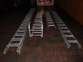 aluminium ladders a selection of aluminium ladders and roof ladder