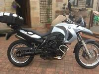 BMW F650 GS Lowered with accessories Adventure bike: Tiger Explorer Multistrada MT09