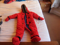 12-18 Month Snow Suit New With Tag