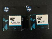 HP Officejet 901 Genuine Ink Black and Tri-colour