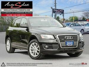 2012 Audi Q5 Quattro AWD ONLY 152K! **BACK-UP CAMERA** CLEAN...