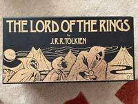 The Lord Of The Rings audiobook on cassette.