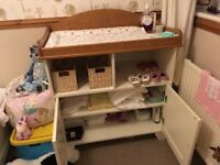 Cream an Oak Nursery furniture