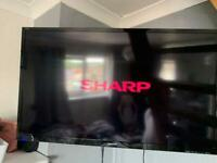 "Sharp smart 42"" tv"