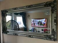 Extra large wall or lean mirror