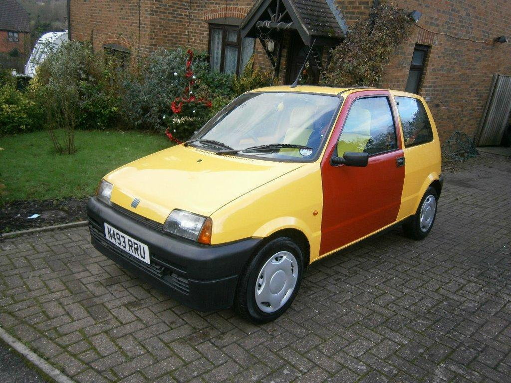 1995 fiat cinquecento 1 1 sporting 76k the best inbetweeners tv replic there is in chelmsford. Black Bedroom Furniture Sets. Home Design Ideas