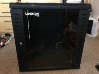 12U 19'' Server Rack - Black