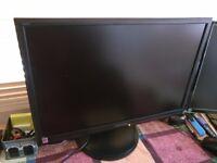 """Cheap Hanns.G Hi221 22"""" Monitor DVI D-SUB in good condition"""