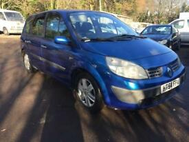 2005 RENAULT SCENIC DYNAMIQUE 1.9 DIESEL 7 SEATER 6 SPEED MANUAL