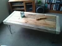 Handmade Industrial Coffee Table