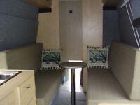xlwb high top transit campervan