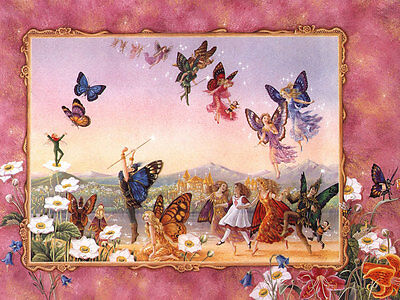 The Fairy Dance cross stitch pattern