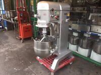 CATERING COMMERCIAL 3 PHASE 60 LT BAKERY KEBAB CAFETERIA DOUGH FOOD MIXER RESTAURANT KITCHEN