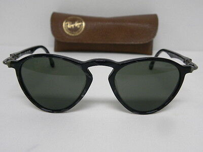 Vintage B&L Ray Ban Gatsby Deluxe Style 2 Strawberry Black Tortoise Silver W1731