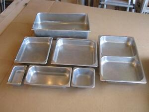 Stainless Steel Chafing Dish Inserts