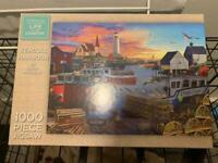 1000 piece jigsaw puzzles.