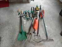 Garden Hand Tools & B&D Hedge Trimmer