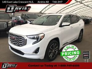2018 GMC Terrain Denali NAVIGATION, 2-PANEL SUNROOF, HTD/CLD...