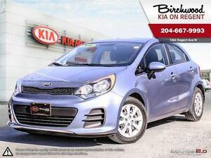 2016 Kia Rio 5DR LX+ *Heated Seats\Air Condtitioning\Bluetooth