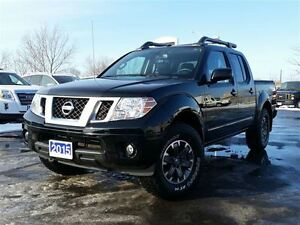 2015 Nissan Frontier PRO-4X-CREW CAB-LEATHER-NAVIGATION