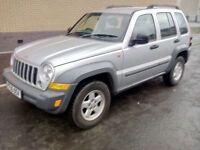 jeep cherokee crd sport automatic turbo diesel 2005 05 plate