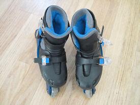 Childs Raider roller blades junior sizes 9-12