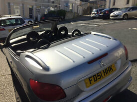 Peugeot 206cc, 1.6l , 98000, convertible - needs work