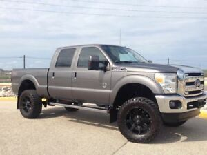2013 Ford F-350 LARIAT/DIESEL/6 LIFT/BLACKED OUT!!!