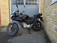 Honda CBF 125 - Black with topbox
