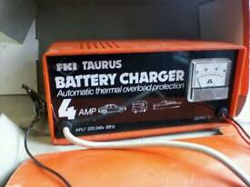 Fkl tauras charger 4amp