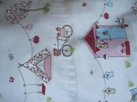 BRAND NEW Fryetts SUMMER HOLIDAY large set curtains and matching bedding